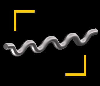 Fibre ondulate